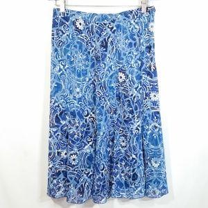 Elementz Skirt Flowy Floral Boho Bohemian Hippie